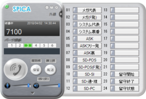 SPICA Phone ソフトウェア